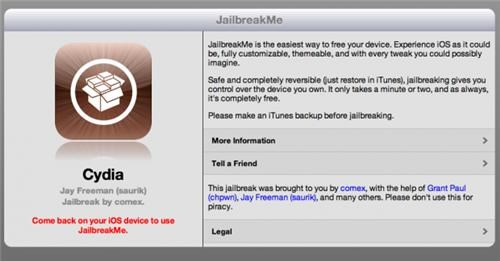 iOS Jailbreak of the Day