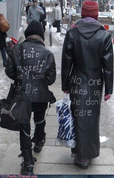 angst,black,emo,leather