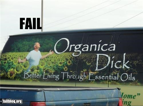 Essential Oil FAIL