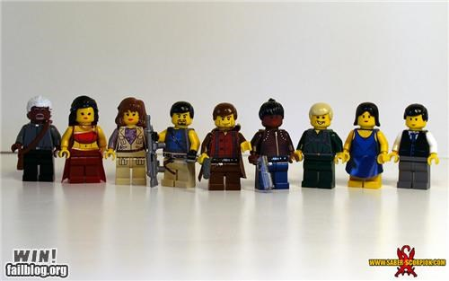 Firefly Cast in Legos WIN