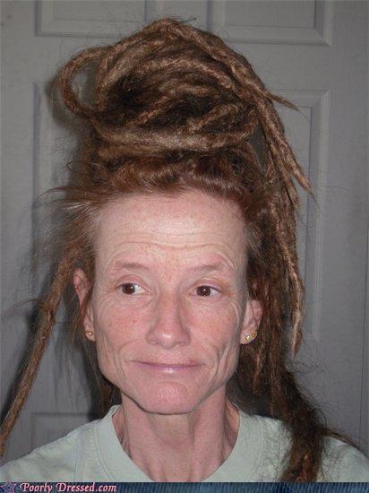 coiled,dreadlocks,hair