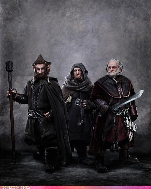 "First Look: ""The Hobbit"" - Dori, Nori, Ori"