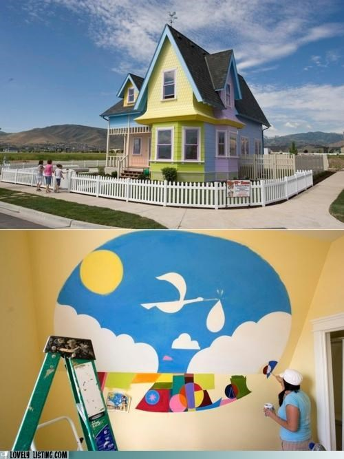 Carl and Ellie's Dream House
