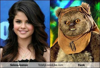 Selena Gomez Totally Looks Like Ewok