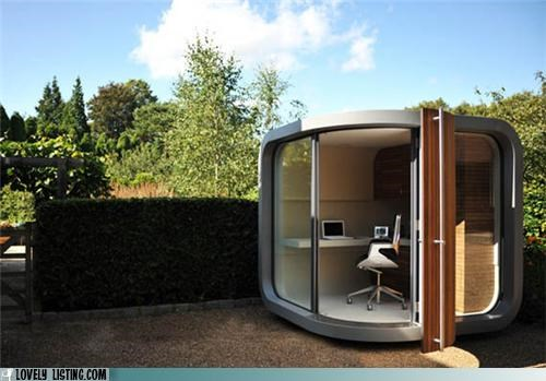 Office,outdoors,pod