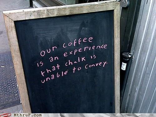 Ad,chalk,coffee