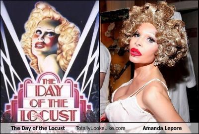 "TLL Classics: ""The Day of the Locust Totally Looks Like Amanda Lepore"