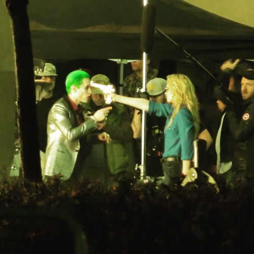 Harley Quinn and The Joker on The Suicide Squad Set (Spoilers)