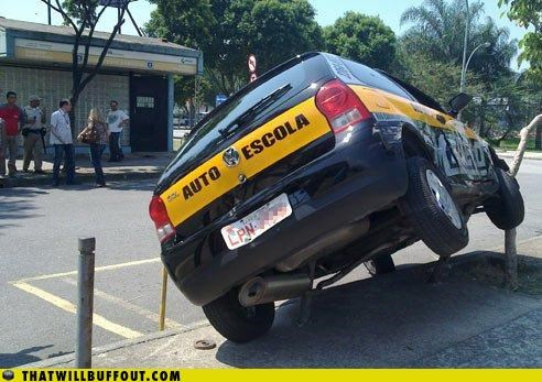 Driving Test: Fail