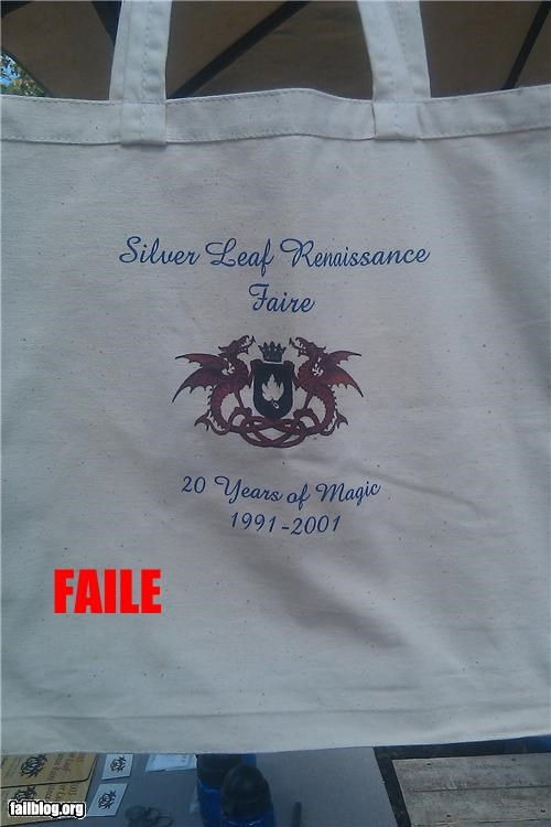 Renaissance Faire FAIL