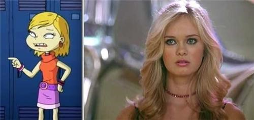 "Angelica Pickles from ""All Grown Up"" and Sara Paxton look the same!"