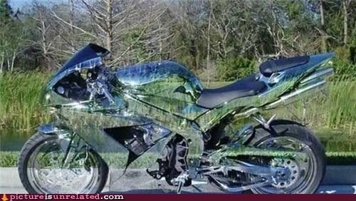 Wonder Woman's Bike