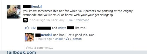 Dad is Indifferent to Your Suffering