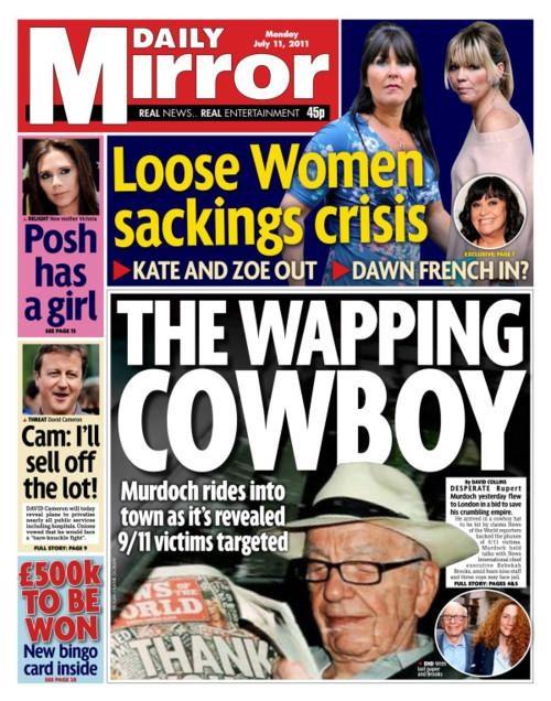 911,Follow Up,Milly Dowler,News of the World,Phone Hacking Affair,Rupert Murdoch