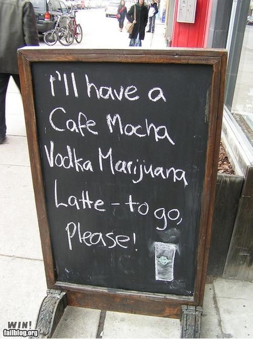 Coffee-Order Sign WIN