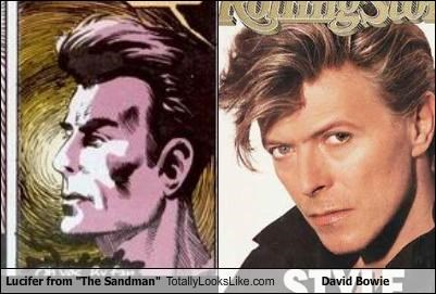 "Lucifer from ""The Sandman"" Totally Looks Like David Bowie"