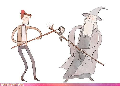 Gandalf vs. The Doctor