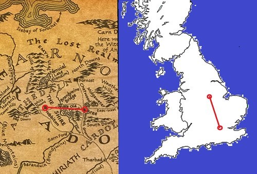Someone Figured Out How Far Frodo and Sam Walked