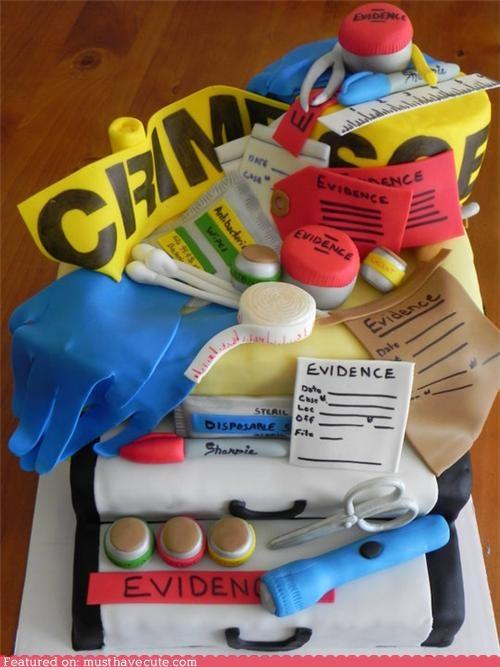 Epicute: Crime Scene Cake