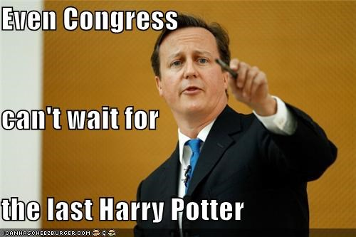 Even Congress can't wait for the last Harry Potter