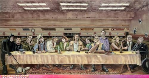 That's Just Like, The Last Supper Man...