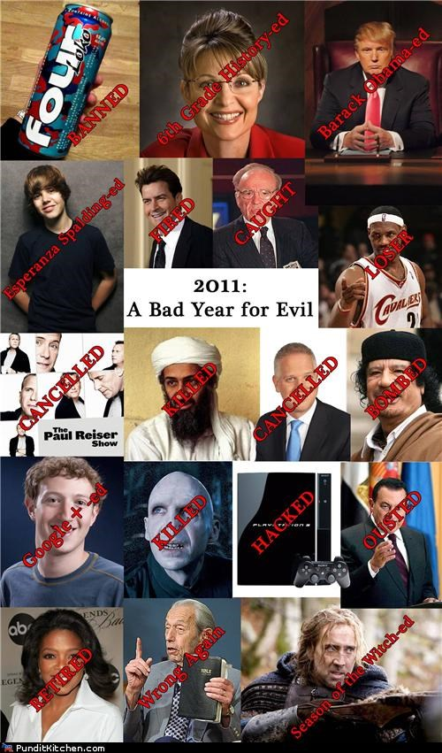 2011: A Bad Year for Evil