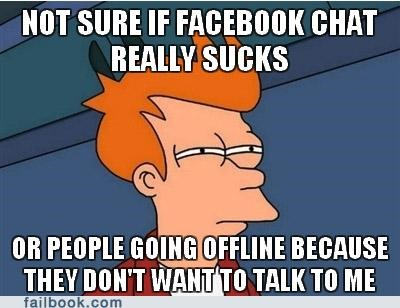 Fry on Facebook Chat