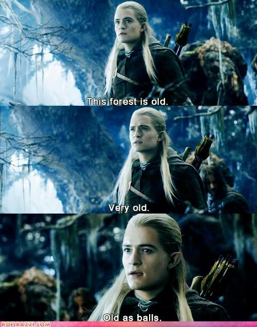 Legolas, What Do Your Elf Senses Tell You?