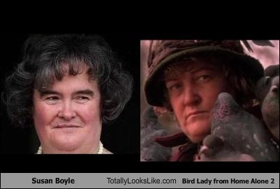 "TLL Classics: Susan Boyle Totally Looks Like Bird Lady from ""Home Alone 2"""