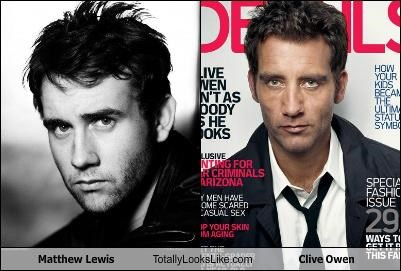 Matthew Lewis Totally Looks Like Clive Owen