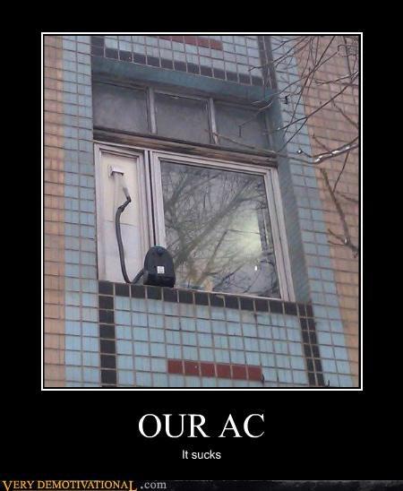 ac,hilarious,Kludge,vacuum,window