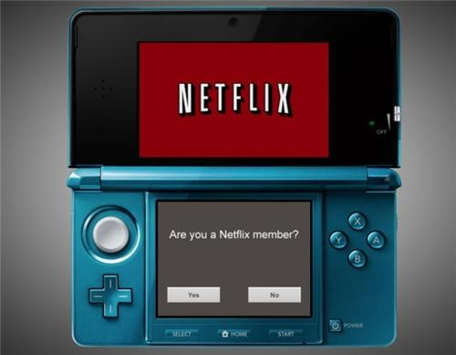 Netflix for Nintendo 3DS of the Day