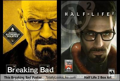 This Breaking Bad Poster Totally Looks Like Half Life 2 Box Art