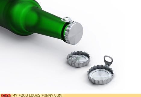 Easy Open Beer Caps