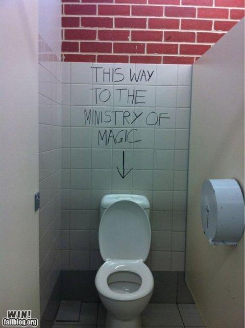 book,grafitti,hacekd IRL,Harry Potter,Movie,toilet