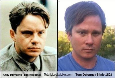 Andy Dufresne (Tim Robbins) Totally Looks Like Tom Delonge (Blink-182)