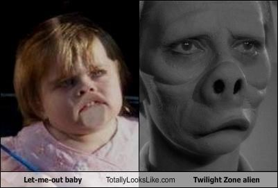 Let-Me-Out Baby Totally Looks Like Twilight Zone Alien