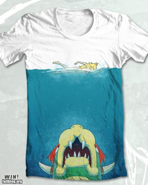 Super Mario Bros T Shirt WIN