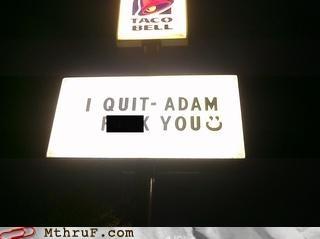 billboard,quit,taco bell