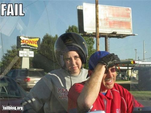 CLASSIC: Helmet Direction FAIL