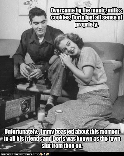 Wild Girls Of The 1950's