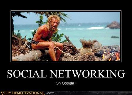 alone,cast away,google,google+,hilarious,island