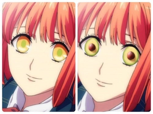 Wanna Make Your Anime Creepy? Just Add Avocados.
