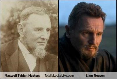 actors,beards,botanist,liam neeson,maxwell tylden masters,scientists