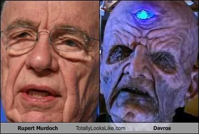 dalek,daleks,Davros,doctor who,evil,fox news,Rupert Murdoch