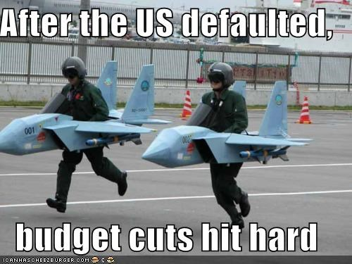 After the US defaulted,  budget cuts hit hard