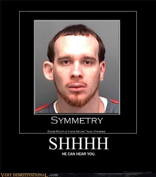 ears,hilarious,mug shot,symmetry,wtf