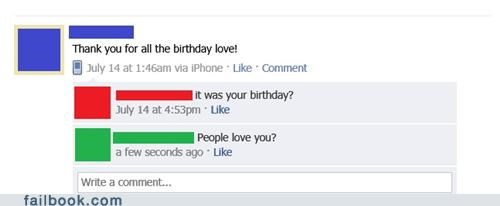 Was It Really a Happy Birthday?