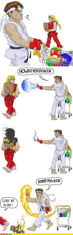 hadouken,ken,ryu,Street fighter,the internets