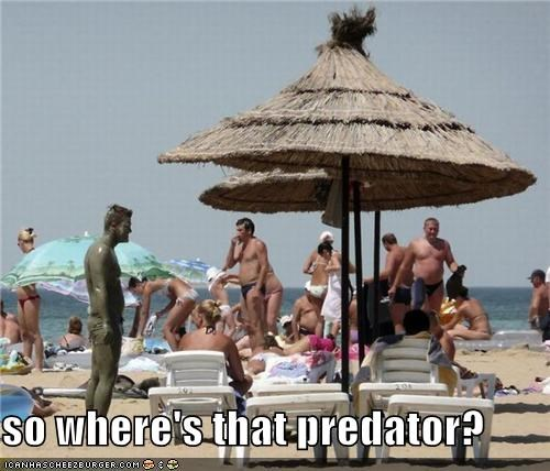 so where's that predator?